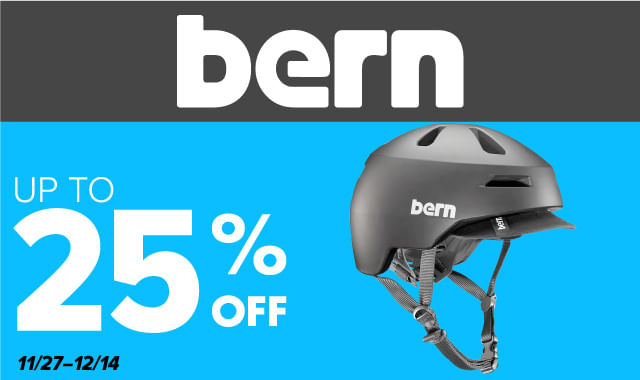 Save on Bern Cycling Helmets during ERIK'S 5 Days of Deals!