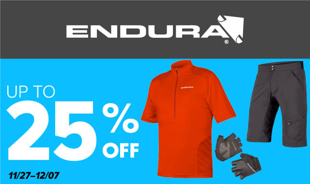 Save on Endura Cycling Apparel during ERIK'S 5 Days of Deals!
