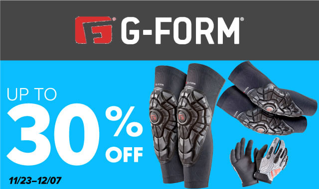 Save on G-Form Pads during ERIK'S 5 Days of Deals!