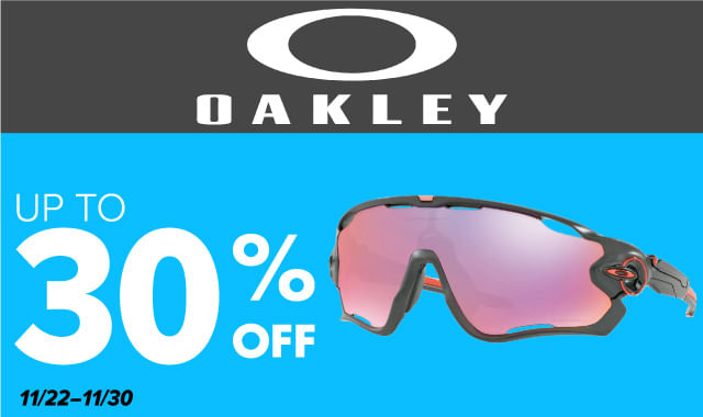 Save on Oakley Sunglasses during ERIK'S 5 Days of Deals!