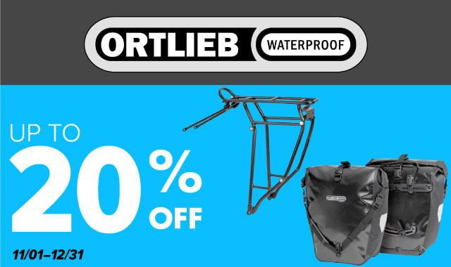 Save on Ortlieb during ERIK'S 5 Days of Deals!