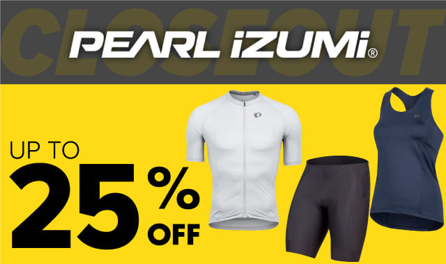 Save on Pearl iZumi Apparel during ERIK'S 5 Days of Deals!