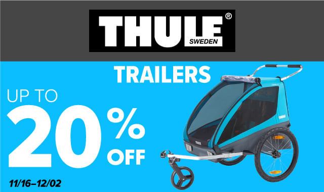 Save on Thule Trailers during ERIK'S 5 Days of Deals!