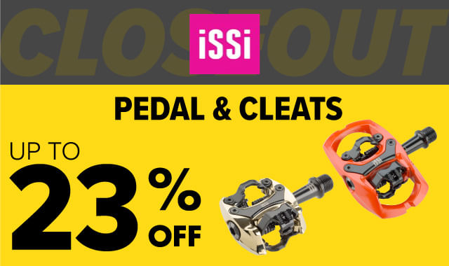 Save on iSSi Pedals & Cleats during ERIK'S 5 Days of Deals!